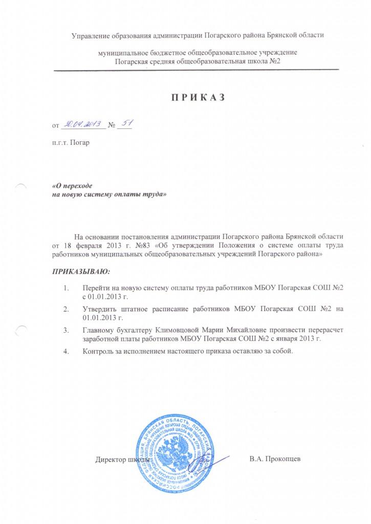 приказ НСОТ